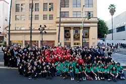 800 Local Volunteers Make Hollywood's Christmas Parade A Success