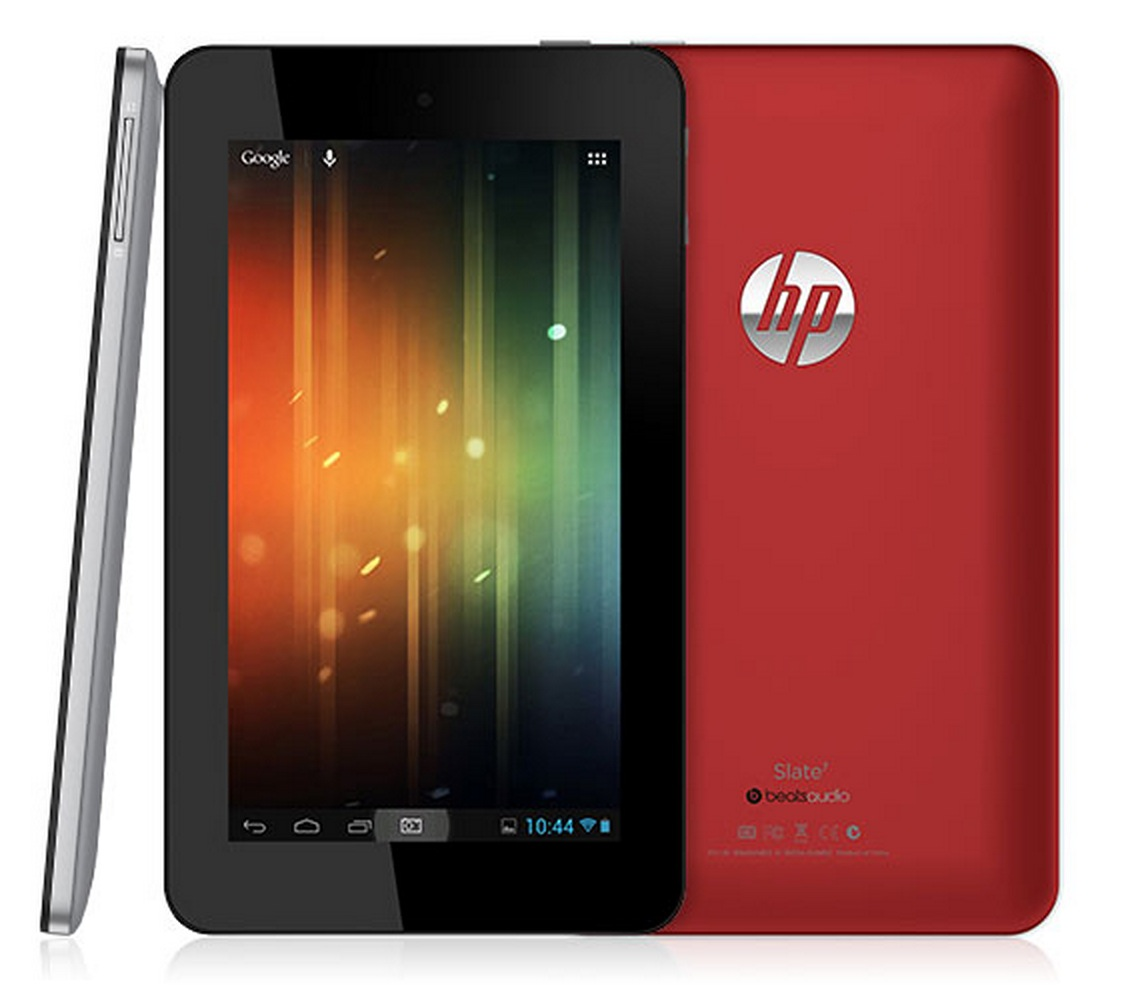 HP Announces Slate 7 for April; Android Tablet with Embedded Beats Audio & More