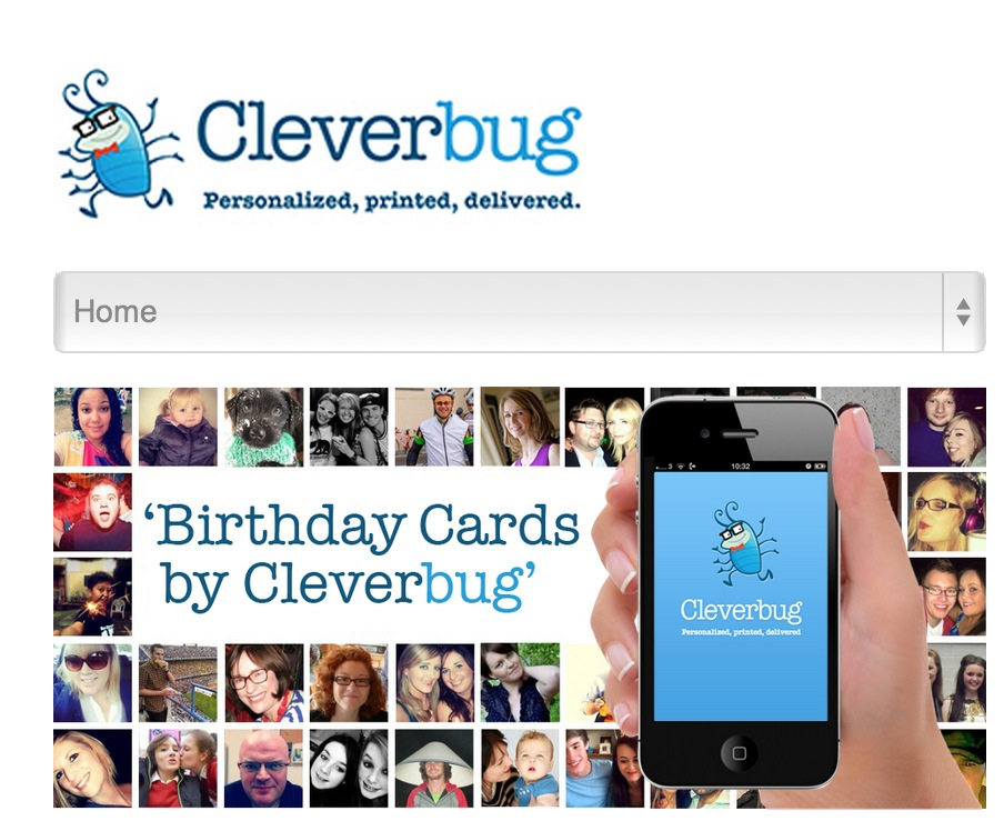 Cleverbug Launches iPhone App to Easily Send Real, Personalized Birthday Cards Anywhere in the World