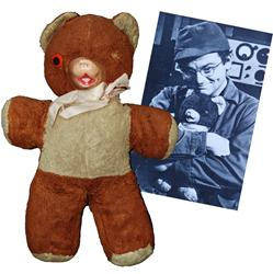 Radar's Iconic M*A*S*H Teddy Bear Set for Online Auction, 3/27