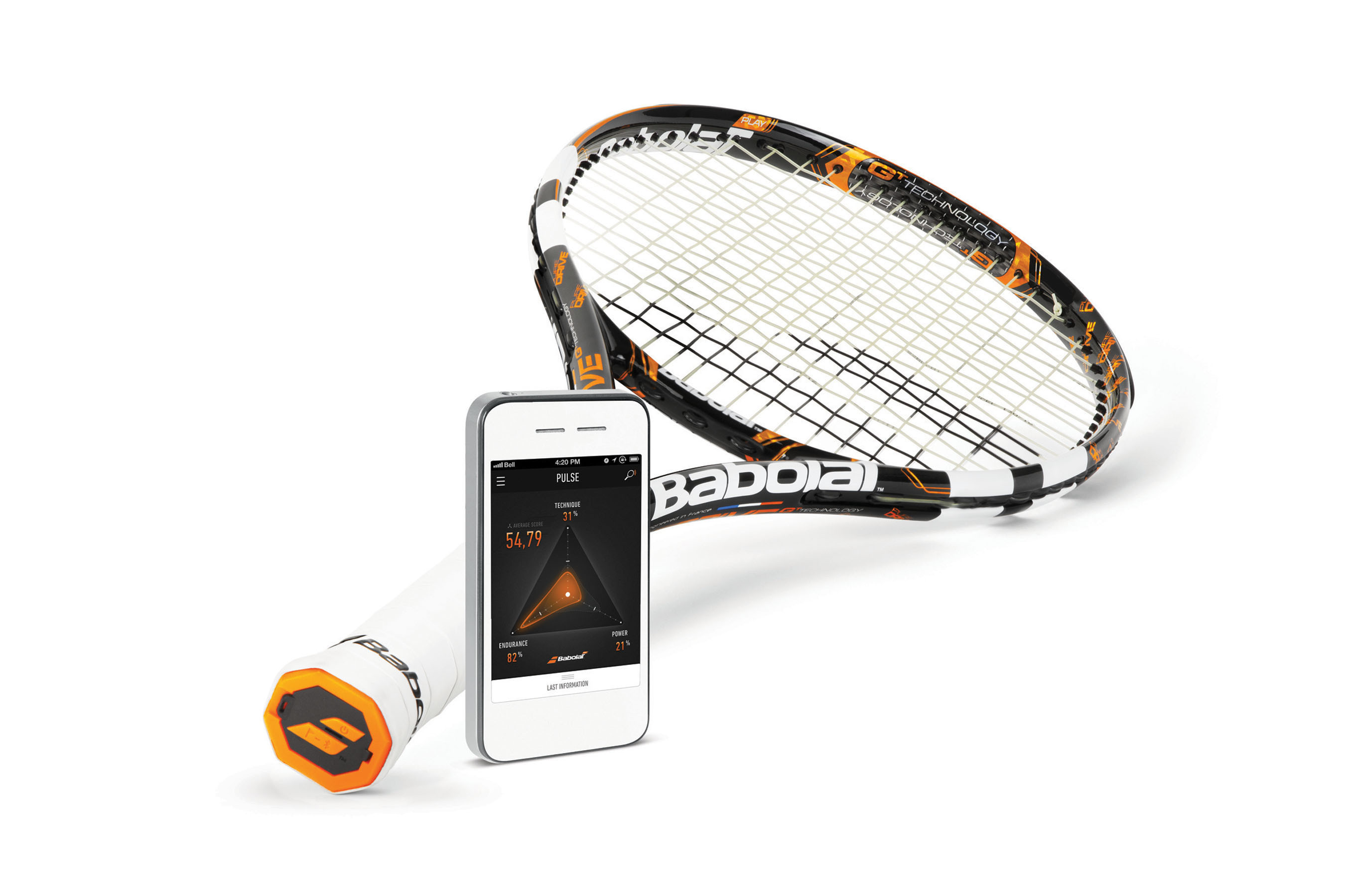 Babolat Launches Babolat Play Pure Drive Connected Racquet, December 2013