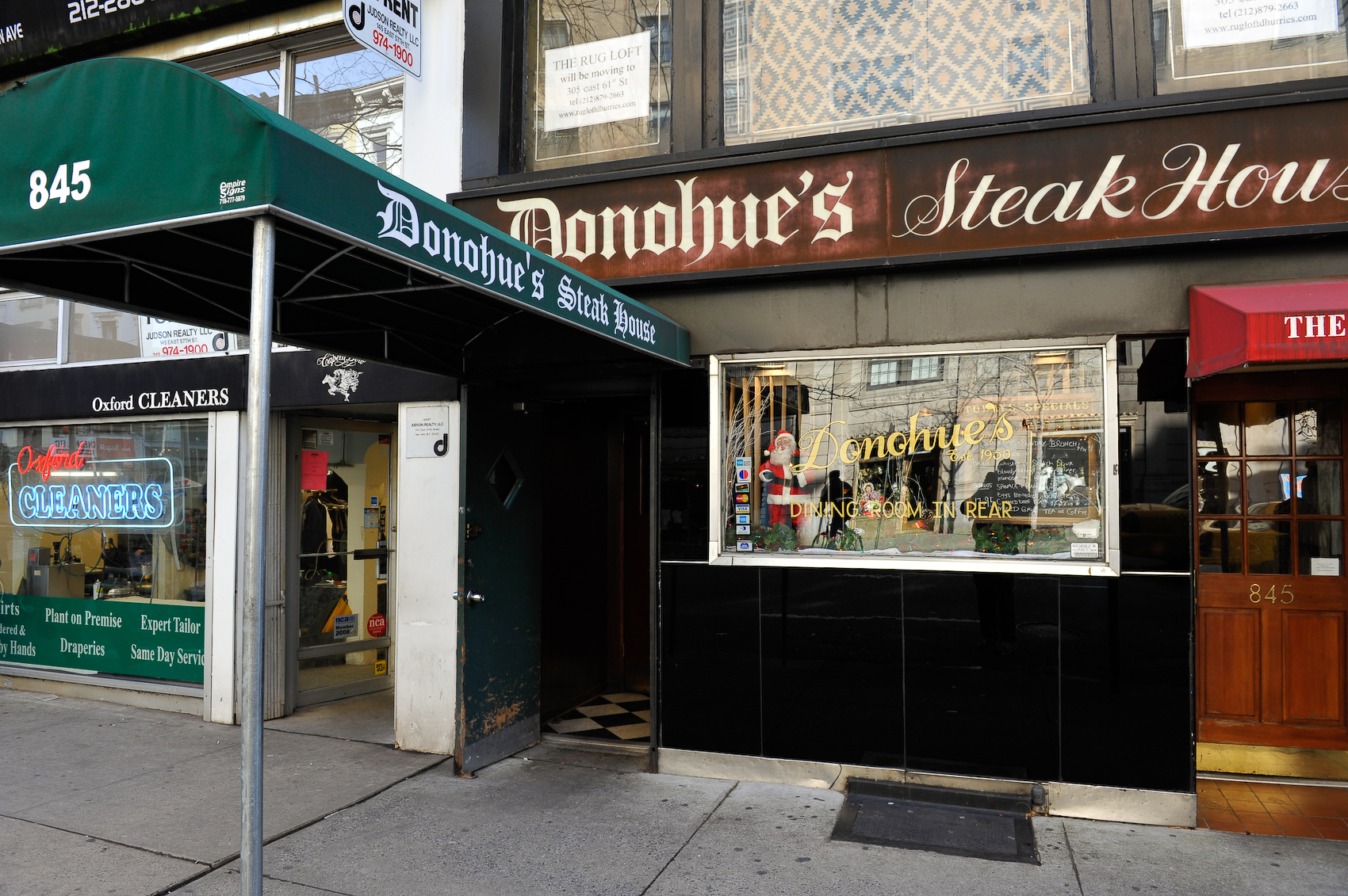 Bww Reviews Donohue S Steakhouse In Nyc Time Honored