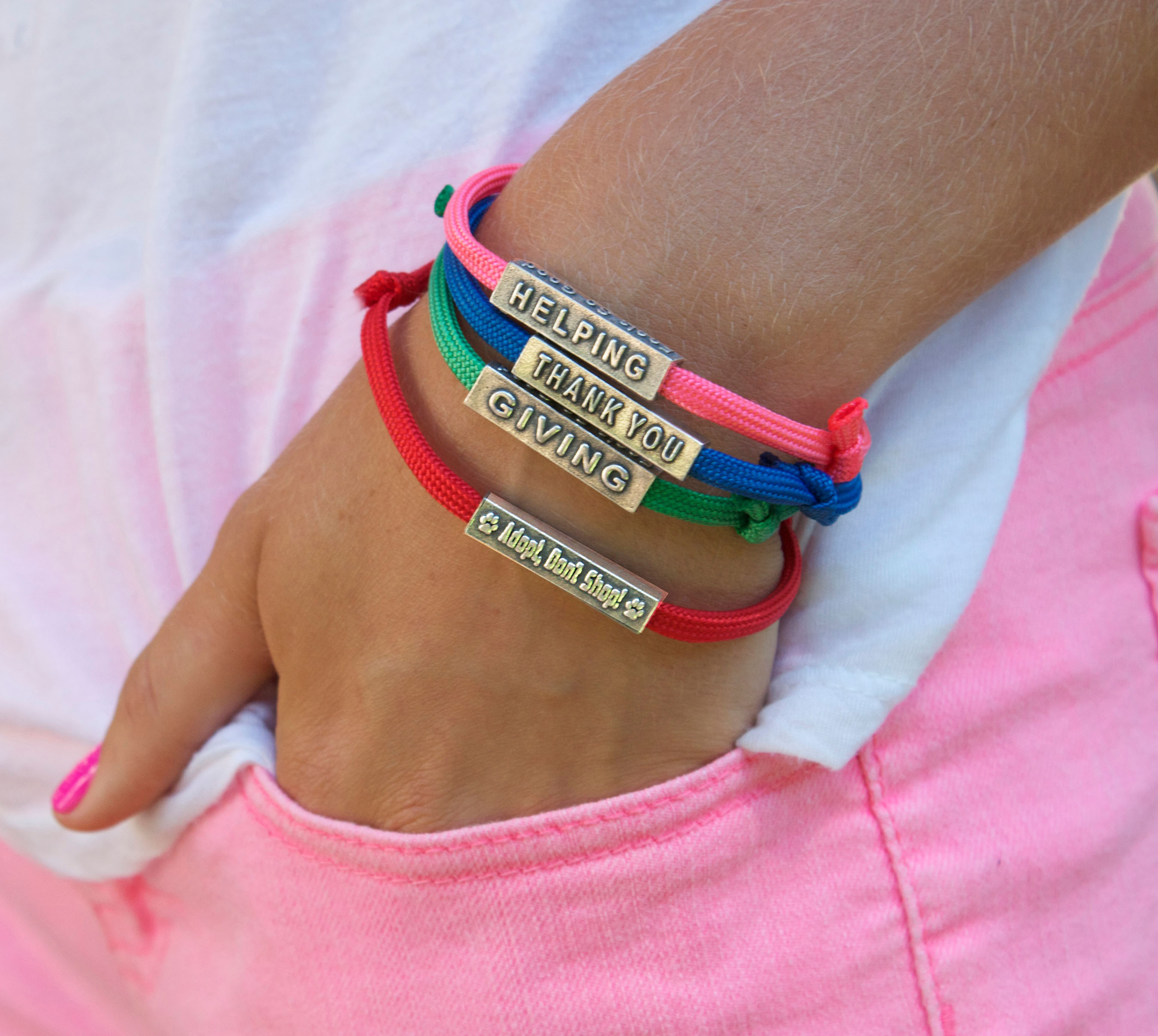 New XBracelets Feature Thanklets, the Official 'Thank You' Bracelets