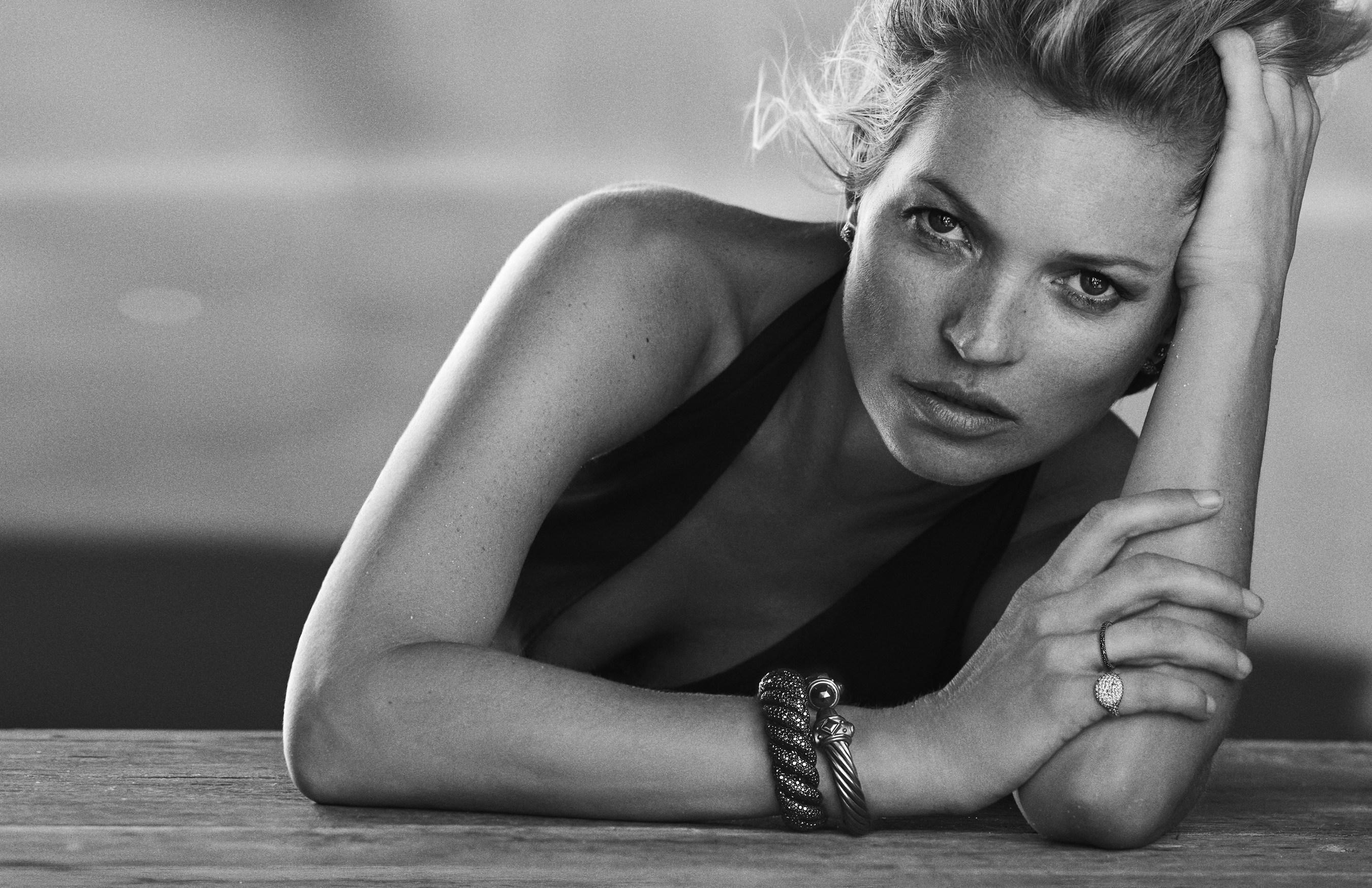 Kate Moss Stars in David Yurman Fall 2014 Campaign