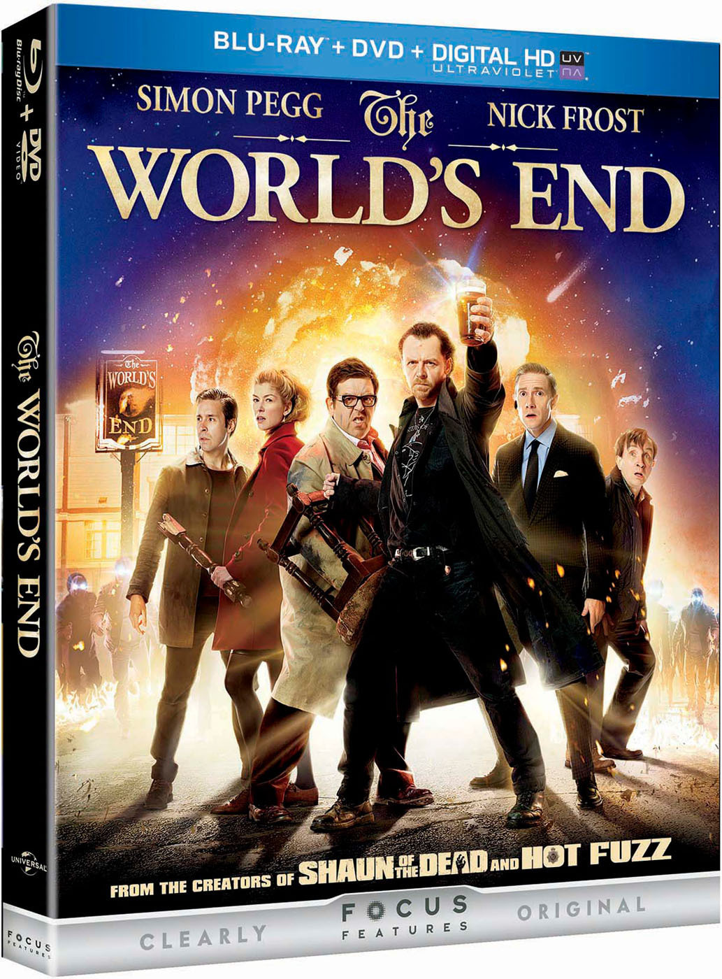 Simon Pegg Stars in THE WORLD'S END, Coming to Blu-ray Combo Pack 11/19