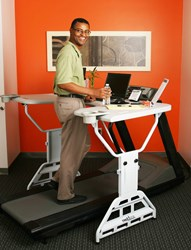 TrekDesk Treadmill Desk Offers Unique Health Solution for Canada's Obesity Epidemic