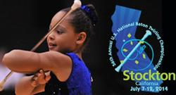Stockton Hosts 550 Athletes For U.S. National Baton Twirling Championships, 7/7