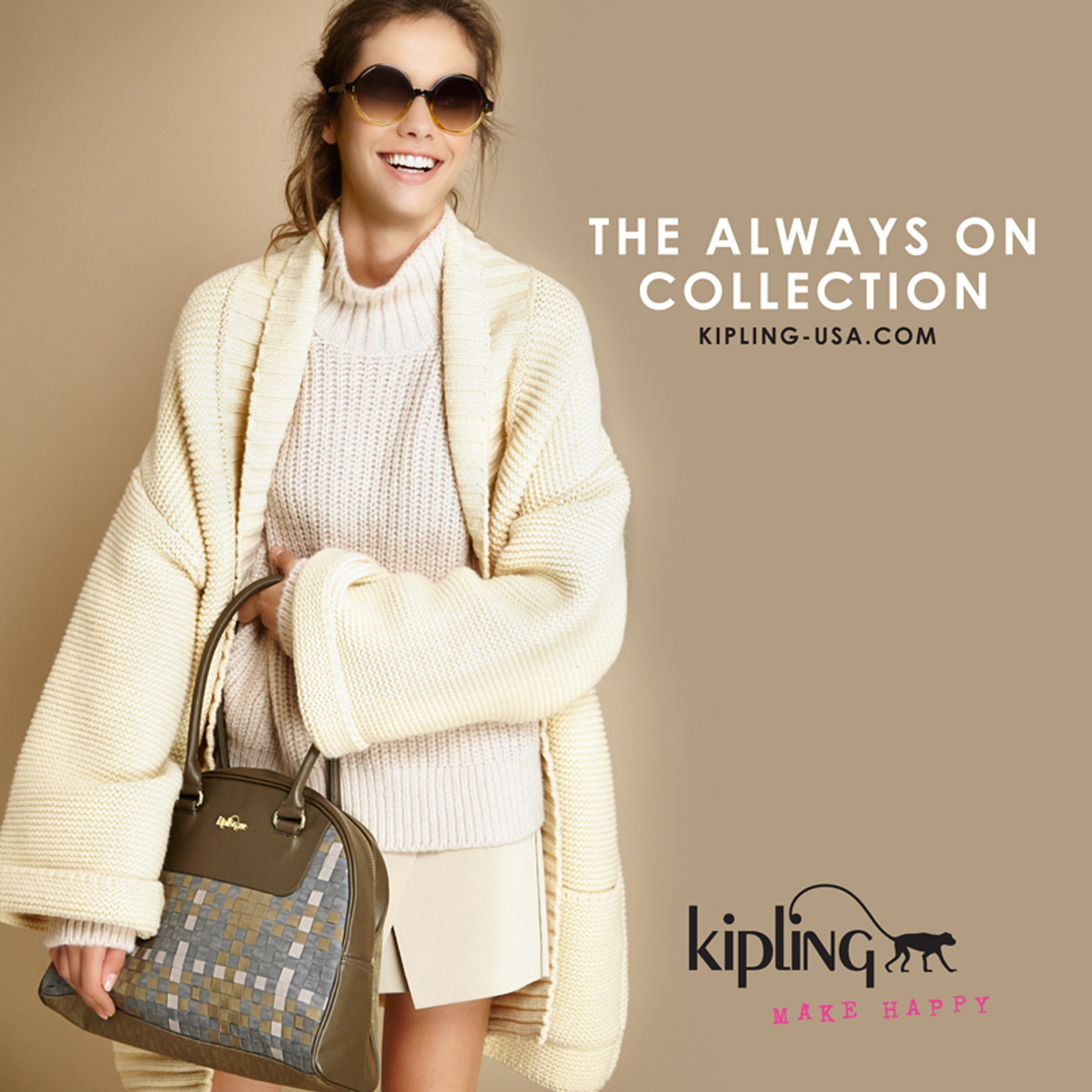 Kipling Launches New Handbag Collection