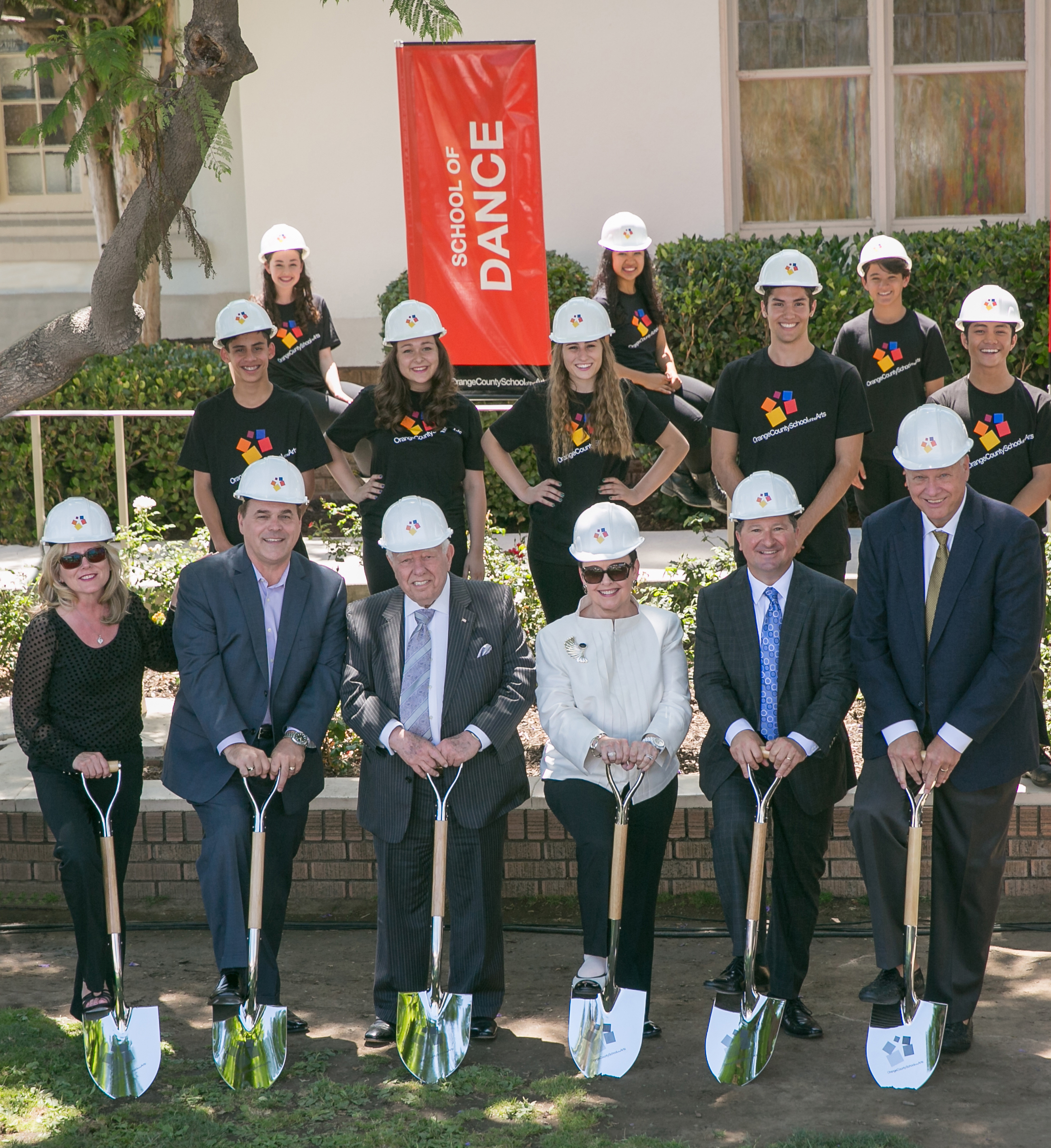 Orange County School of the Arts Breaks Ground on $20 Million Instructional Center