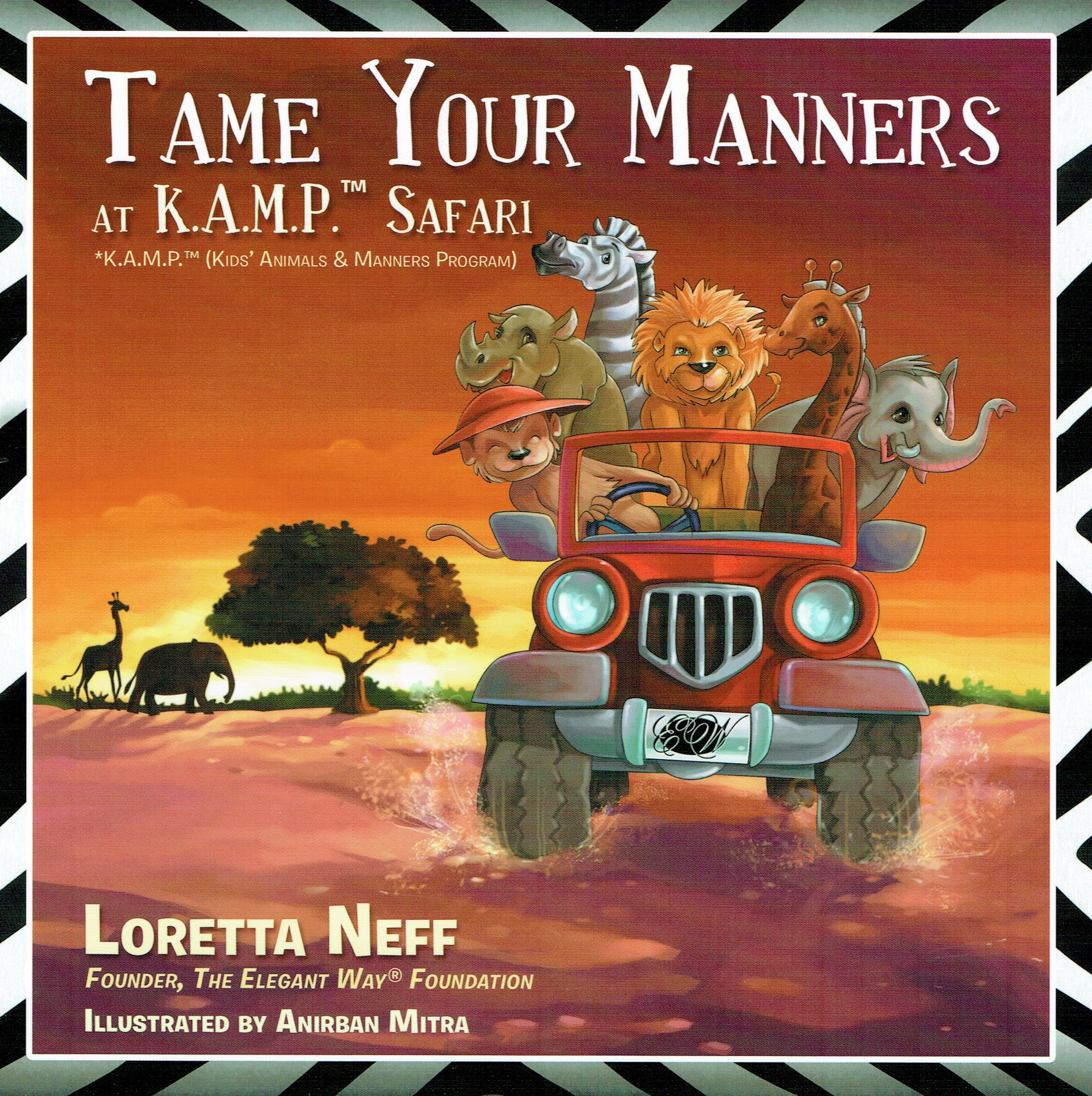 Educational Children's Book, 'Tame Your Manners at K.A.M.P. Safari,' Receives Recognition