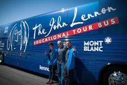 Yamaha and John Lennon Educational Tour Bus Shift Into High Gear for Music Education