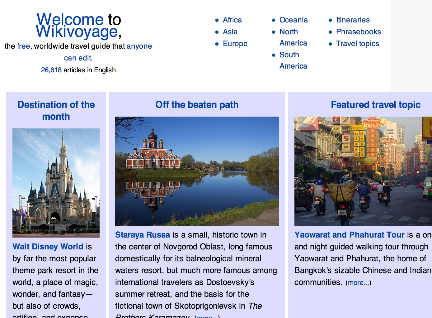 Wikimedia Launching Wikivoyage Travel Site on January 15
