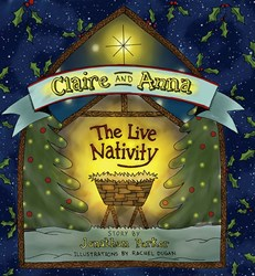 Children's Christmas Book, CLAIRE AND ANNA, Benefits Leukemia Patient