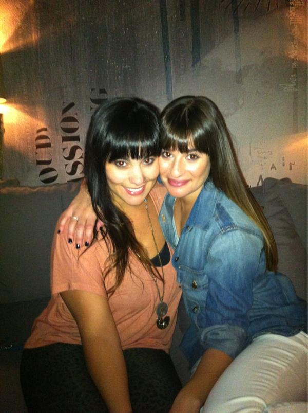 Twitter Watch: Lea Michele - 'Hangin at the recording studio!'
