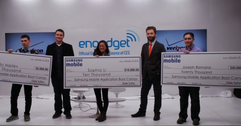 Samsung Awards $35,000 in Scholarships at CES