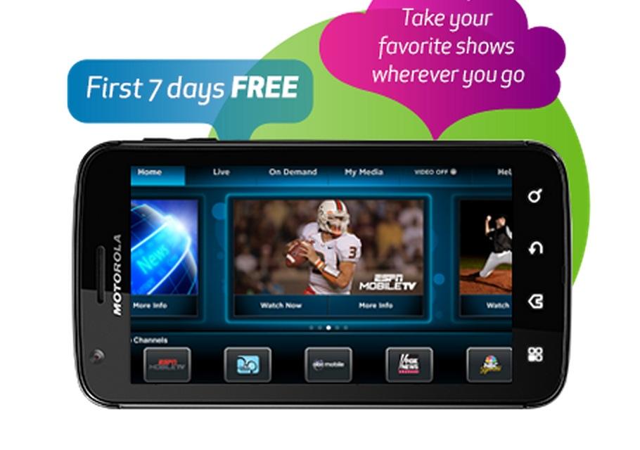 AT&T Rebrands U-verse Live TV as Mobile TV