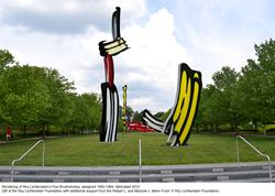 Indianapolis Museum of Art Acquires Work by Pop artist Roy Lichtenstein