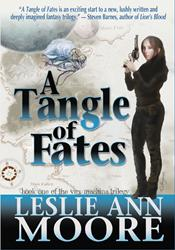 Award-Winning Author Leslie Ann Moore Appears and Speak at World Science Fiction Convention Today