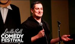 LAST COMIC STANDING Finalist Joe Machi to Performs at  Lucille Ball Comedy Festival