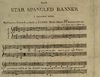 The Star-Spangled Banner Manuscript Heading to The Smithsonian