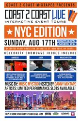 Coast2Coast National Talent Search Coming to New York City 8/17
