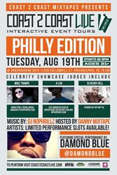 Coast 2 Coast National Talent Search Coming to Philly 8/19