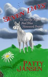 Patty Jansen Releases 18th Story, SEVEN DAYS TO SAVE THE WORLD AND OTHER HOMEWORK PROJECTS