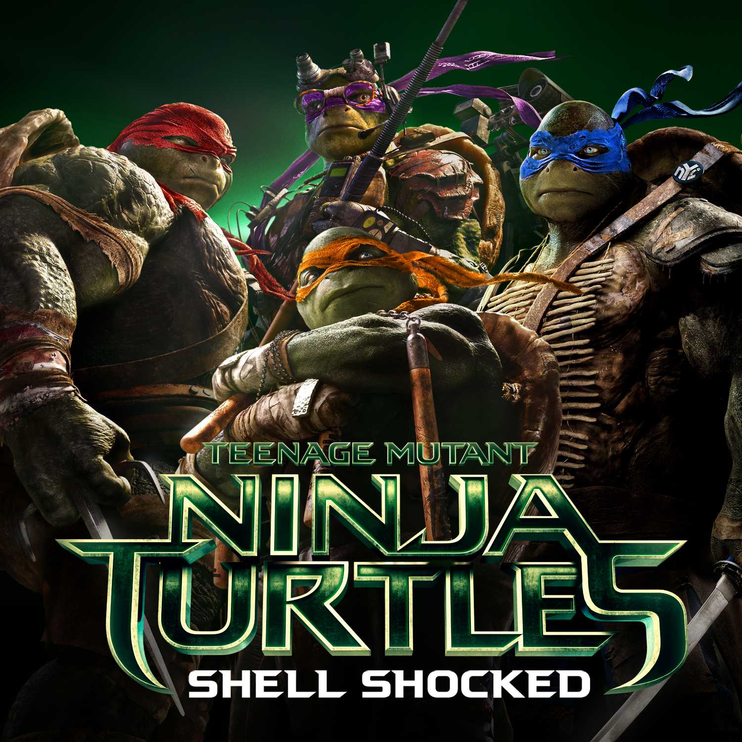 First Single 'Shell Shocked' from TEENAGE MUTANT NINJA TURLES is Released