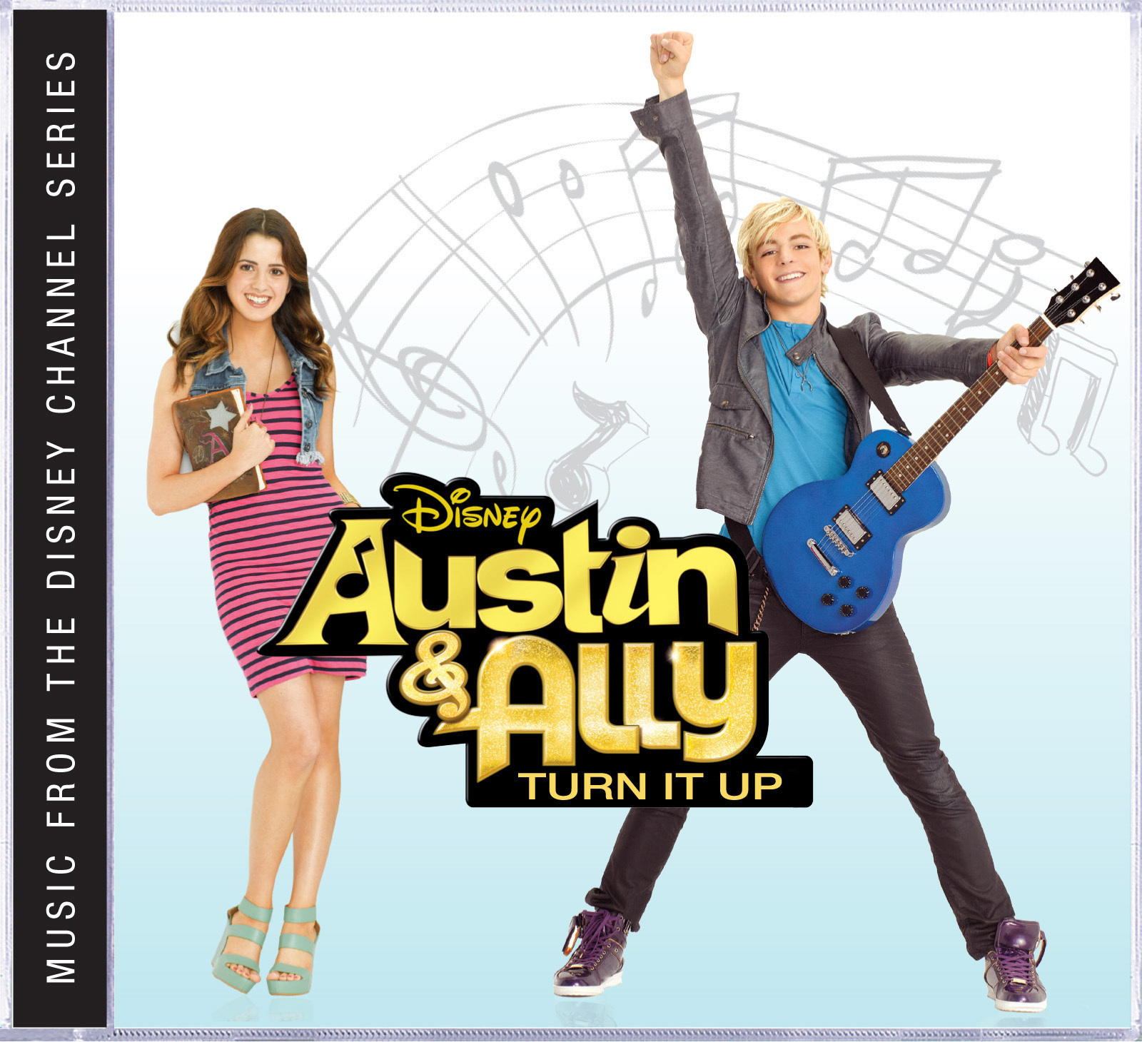 Walt Disney Records' AUSTIN & ALLY: TURN IT UP Out 12/17, Feat. Ross Lynch and Laura Marano