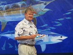 The South Carolina Aquarium Opens Guy Harvey Art Exhibit Today