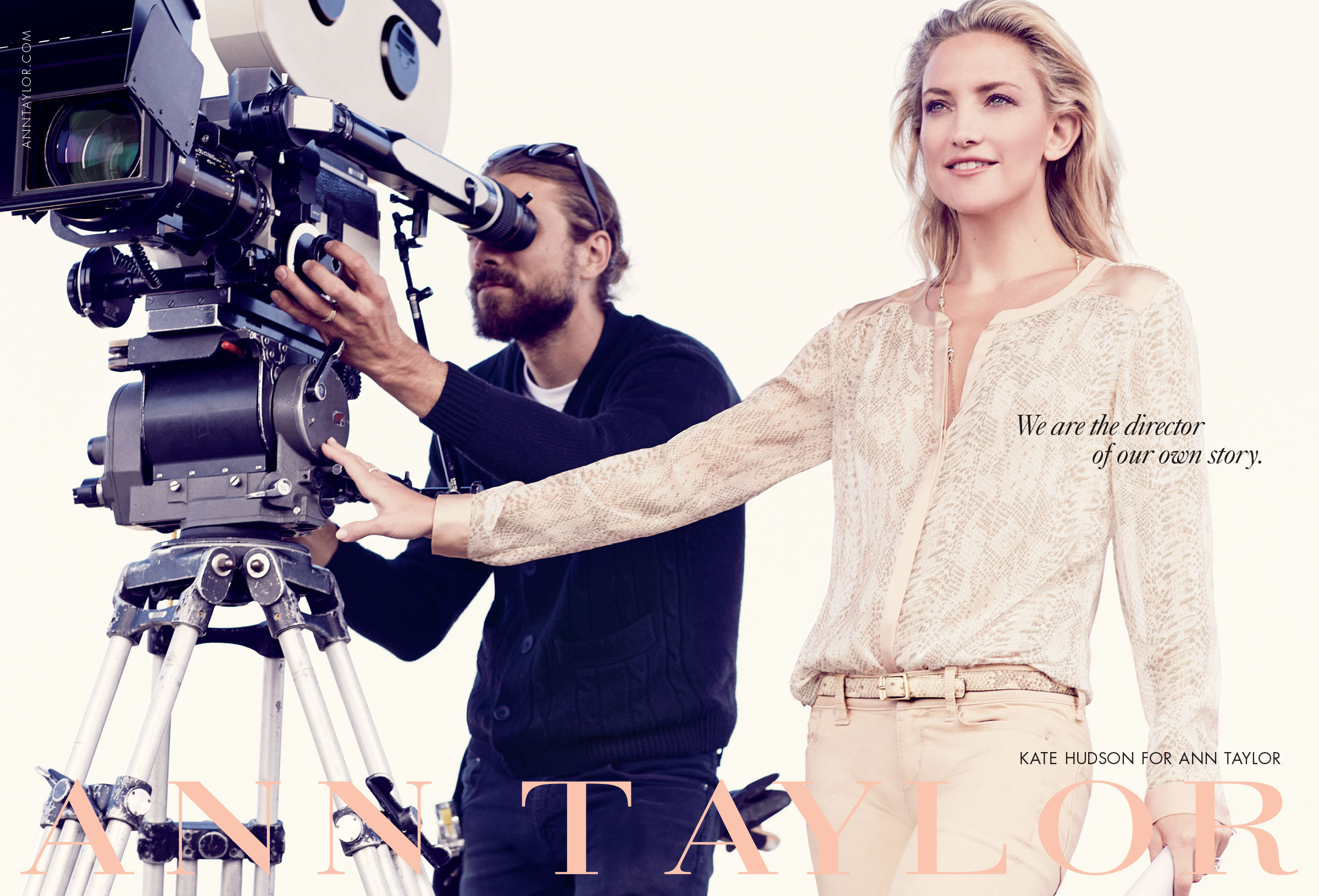 Ann Taylor Goes Behind the Camera with Kate Hudson