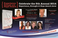 """Carrie White, Author of """"Upper Cut,"""" Set To Receive Writers In Treatment Award"""