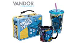 Vandor Adds Doctor Who to its Legendary License Collection