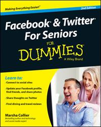 Wiley Launches FACEBOOK & TWITTER FOR SENIORS FOR DUMMIES