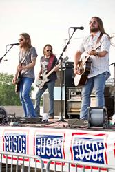 Southern Rock Band Blackberry Smoke Visits Troops in Midwest for First USO Tour