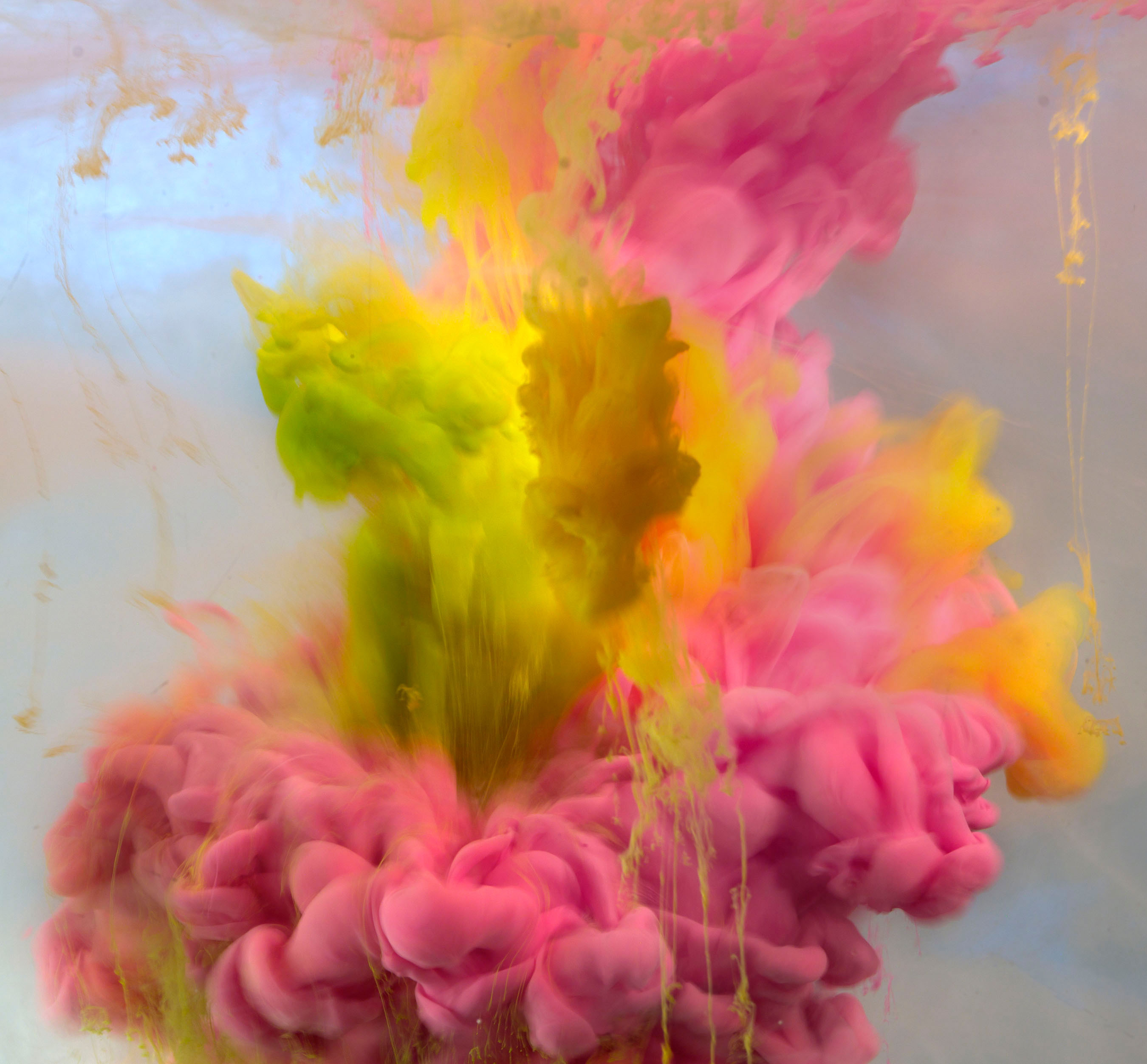 World First Solo Show for Kim Keever 'Underwater' Abstracts Opens at Waterhouse & Dodd Tonight