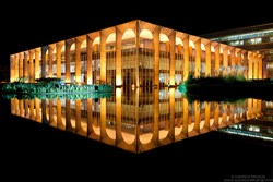 Night Photos of Oscar Niemeyer's Brasilia Win at the 2013 International Photography Awards