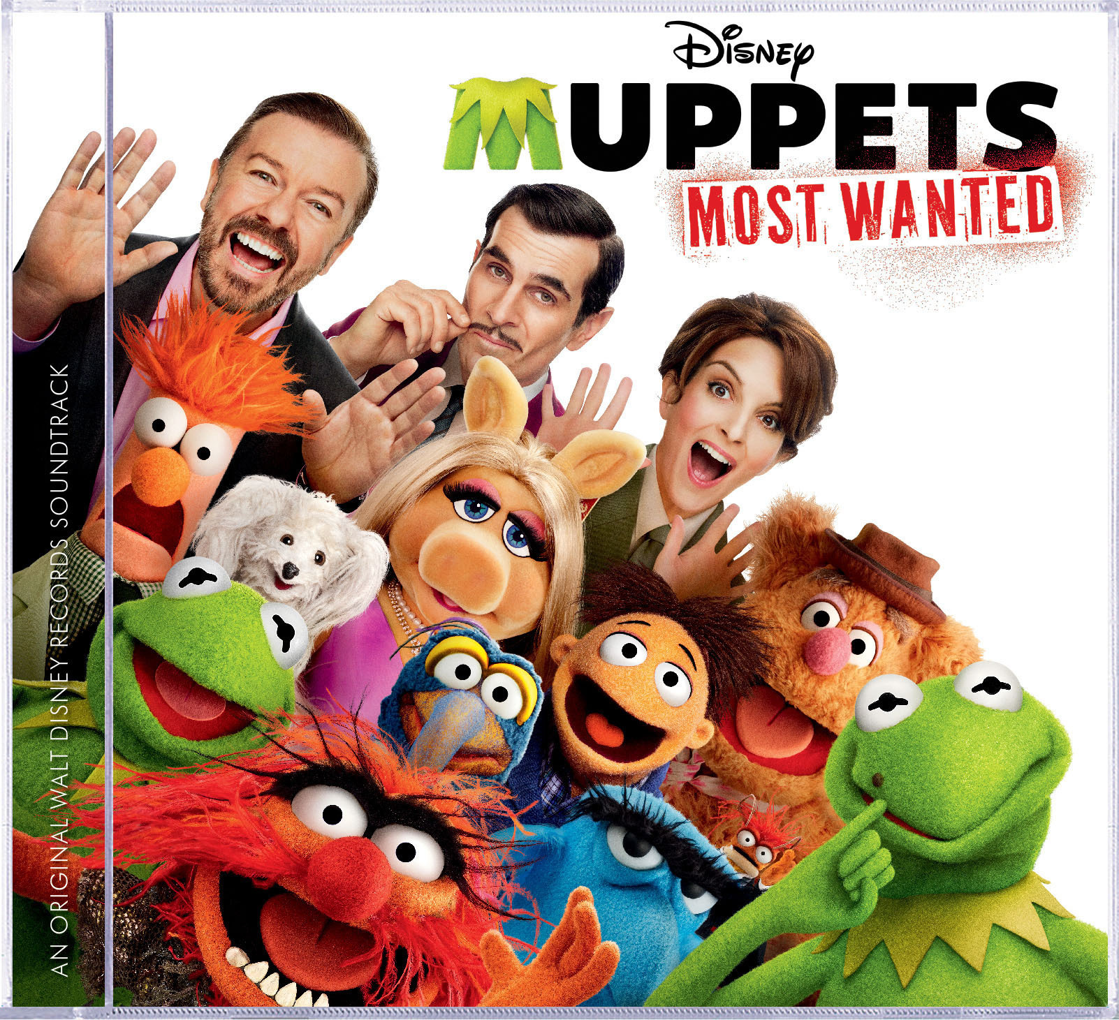 MUPPETS MOST WANTED Soundtrack Makes Mayhem Today