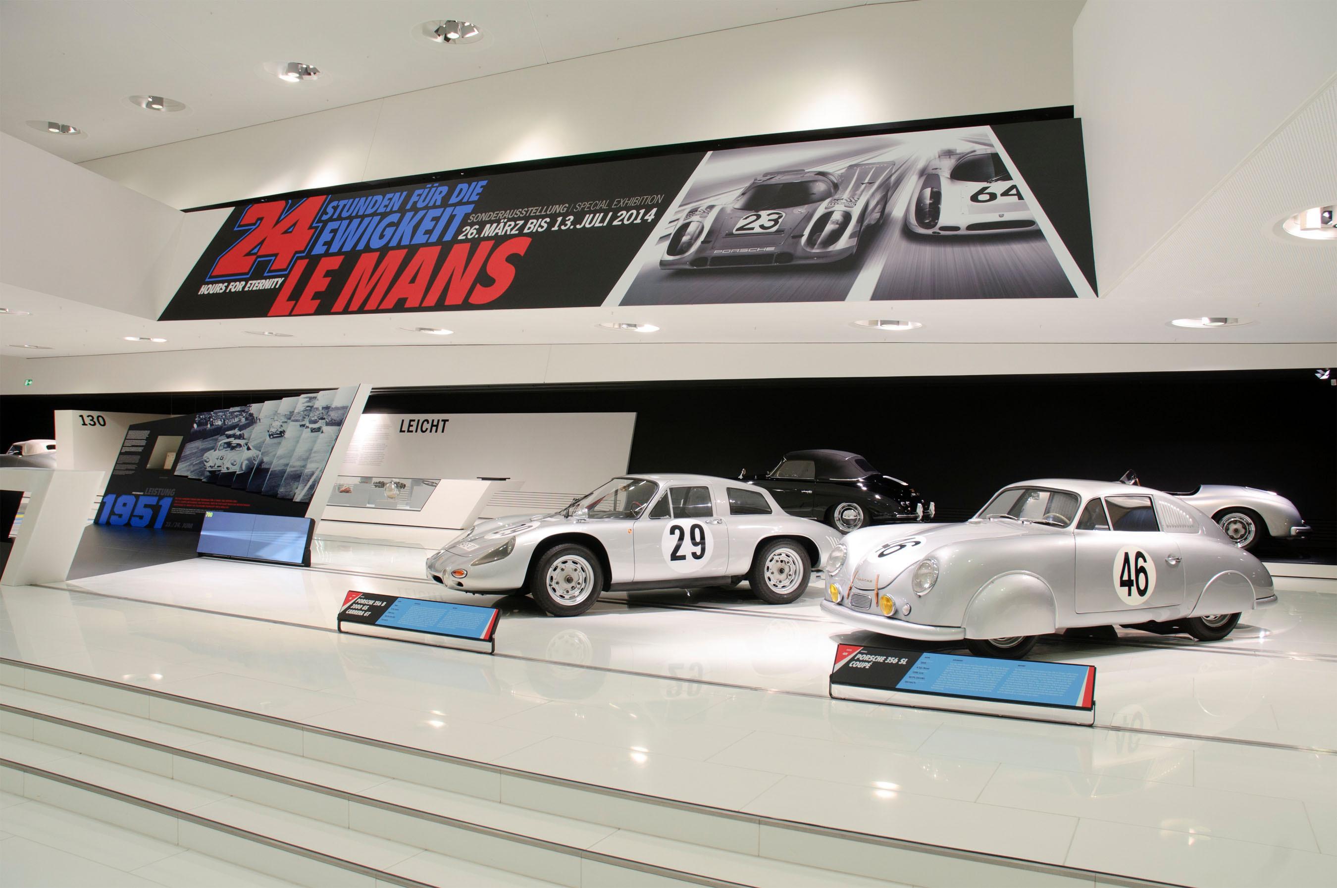 The Porsche Museum Presents 24 HOURS FOR ETERNITY LE MANS, 3/26-7/13
