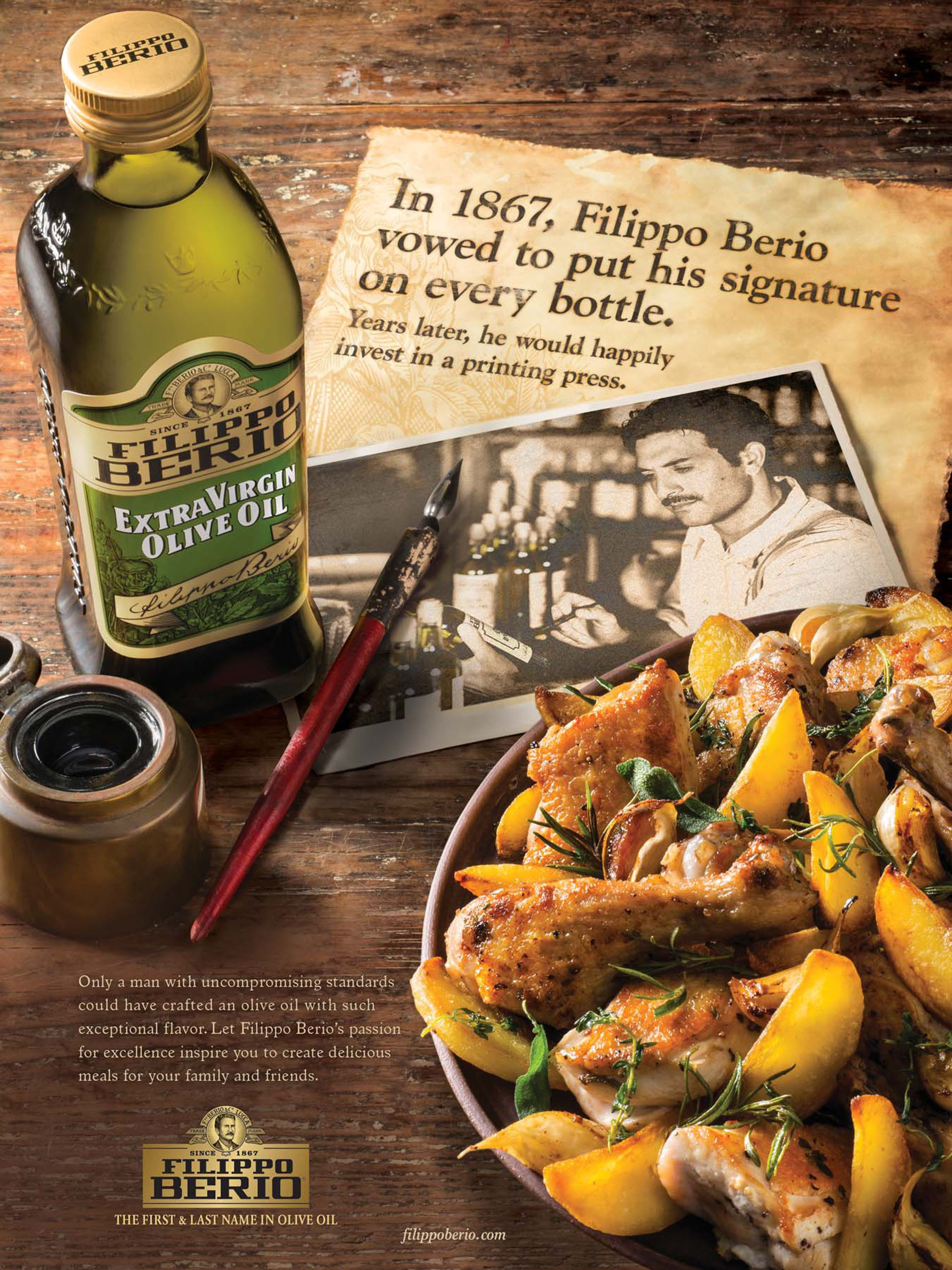 Filippo Berio Olive Oil Launches Largest National Advertising Campaign in 150-Year History