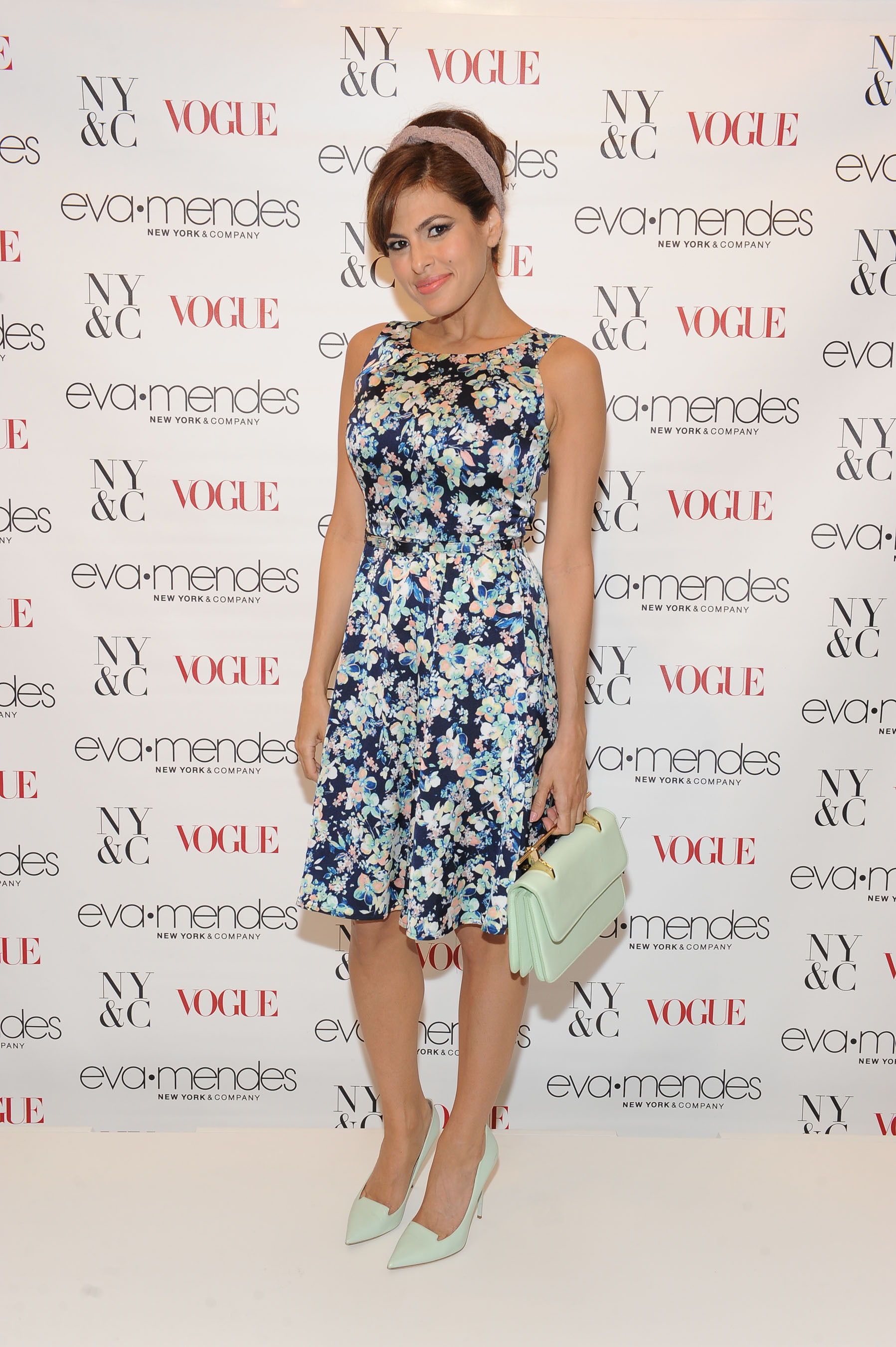Eva Mendes Debuted Her Spring Collection for New York & Company