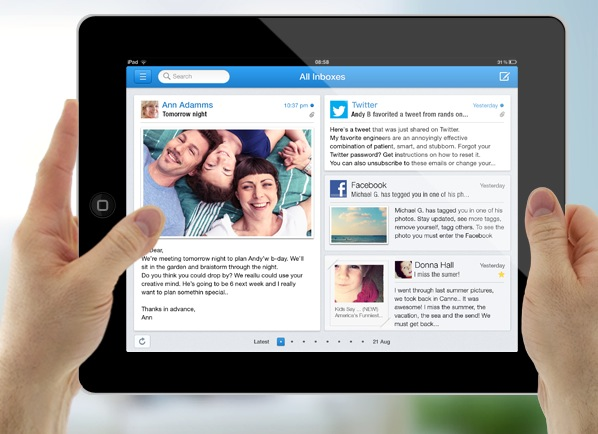 New App Incredimail Adds Browser, Photo Inbox & More for iPad Users
