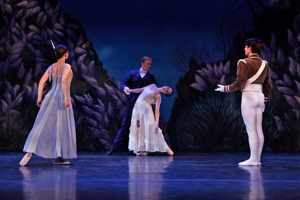 Bww review new york theatre ballet 39 s antony tudor celebration for Antony tudor jardin aux lilas