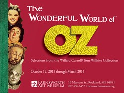Farnsworth Presents The Wonderful World of Oz Exhibition on 75th Anniversary of Iconic Film