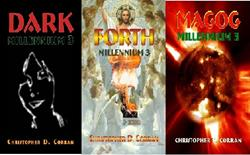 The Books of 'Millennium 3' by Author Christopher D. Corran are Available Now