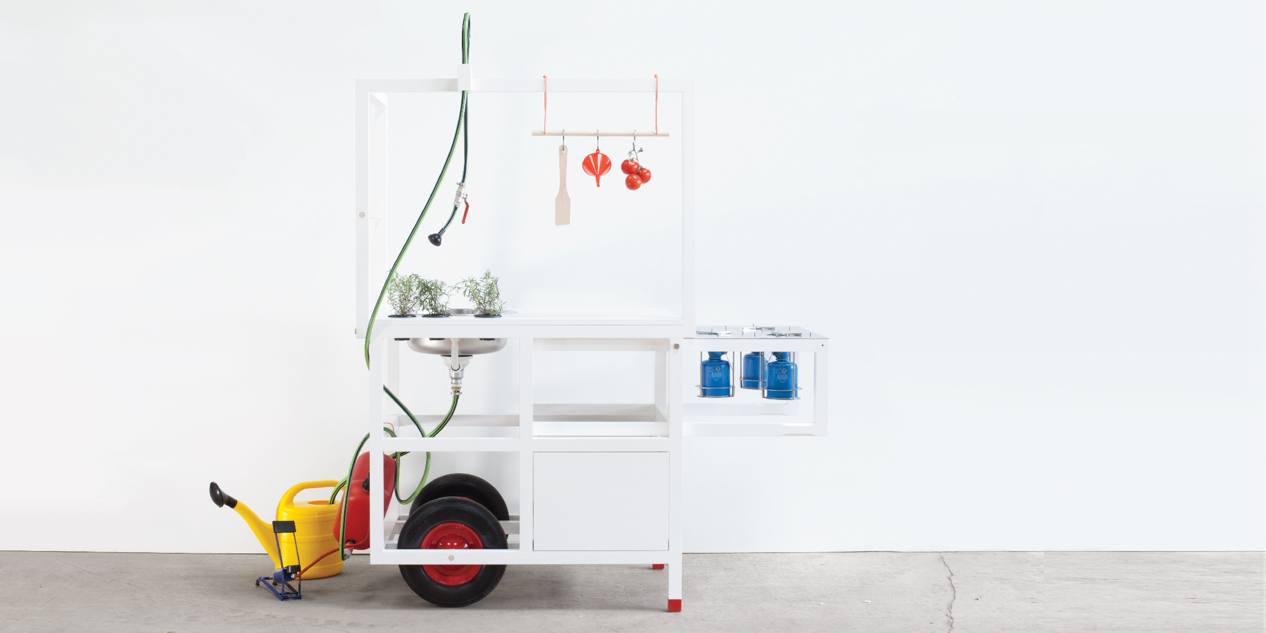 The 'Mobile Hospitality'-Kitchen to be Showcased at the ICFF New York, 5/17
