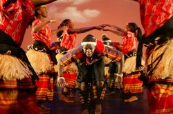 Dance Troupe Spirit of Uganda Performs at SFUAD's Greer Garson Theatre Today