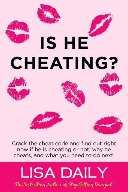 IS HE CHEATING? by Lisa Daily is Available Now