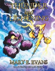 Mary E. Evans Pens 'Thunder and Lightning'
