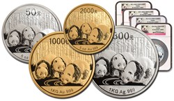 New York Mint with the China Mint and the Smithsonian Institution Set to Release World's First 2014 Smithsonian Panda Proofs